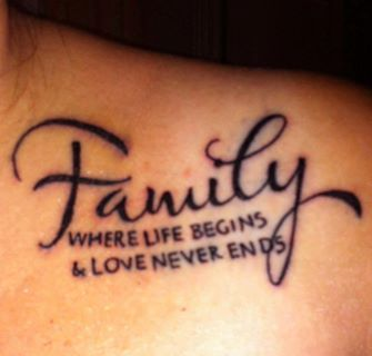 tattoo quotes for men about family | Tattoo quotes for men ...