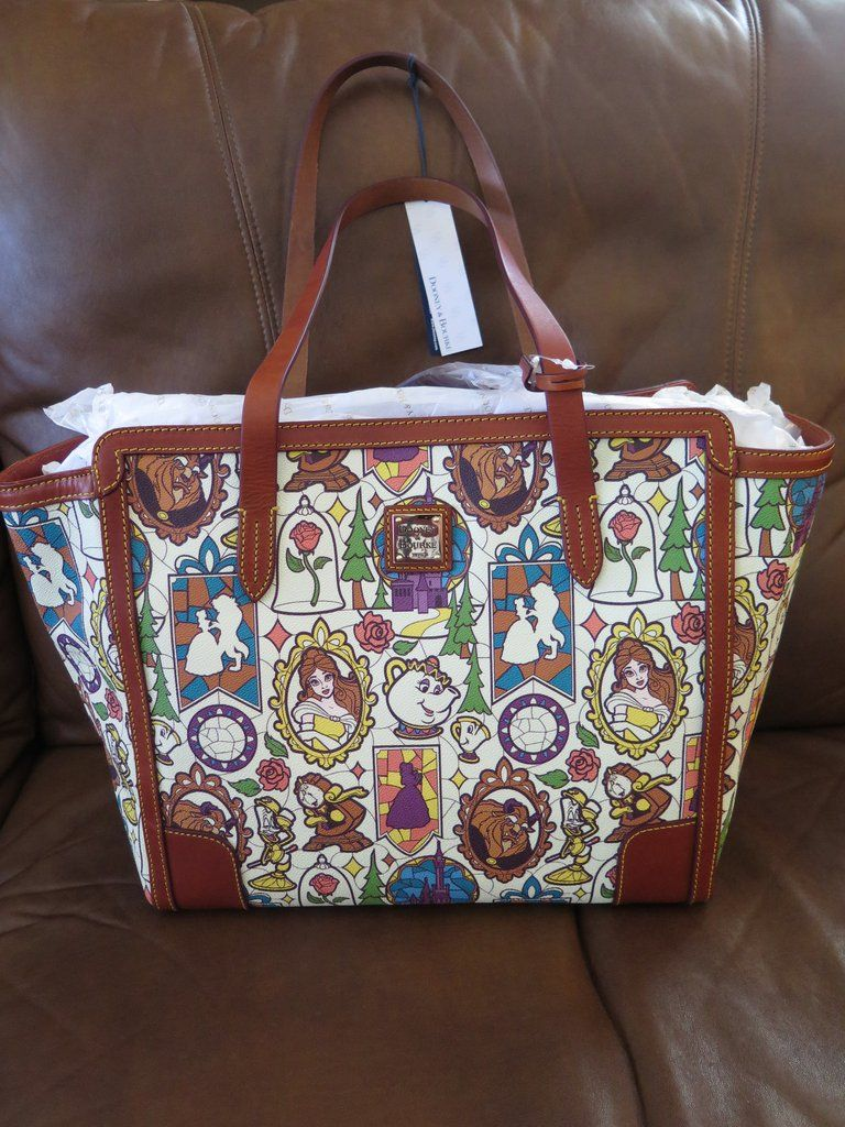 Still Looking For The New Beauty And The Beast Dooney And Bourke Bags Disney Dooney Disney Handbags Dooney And Bourke Disney