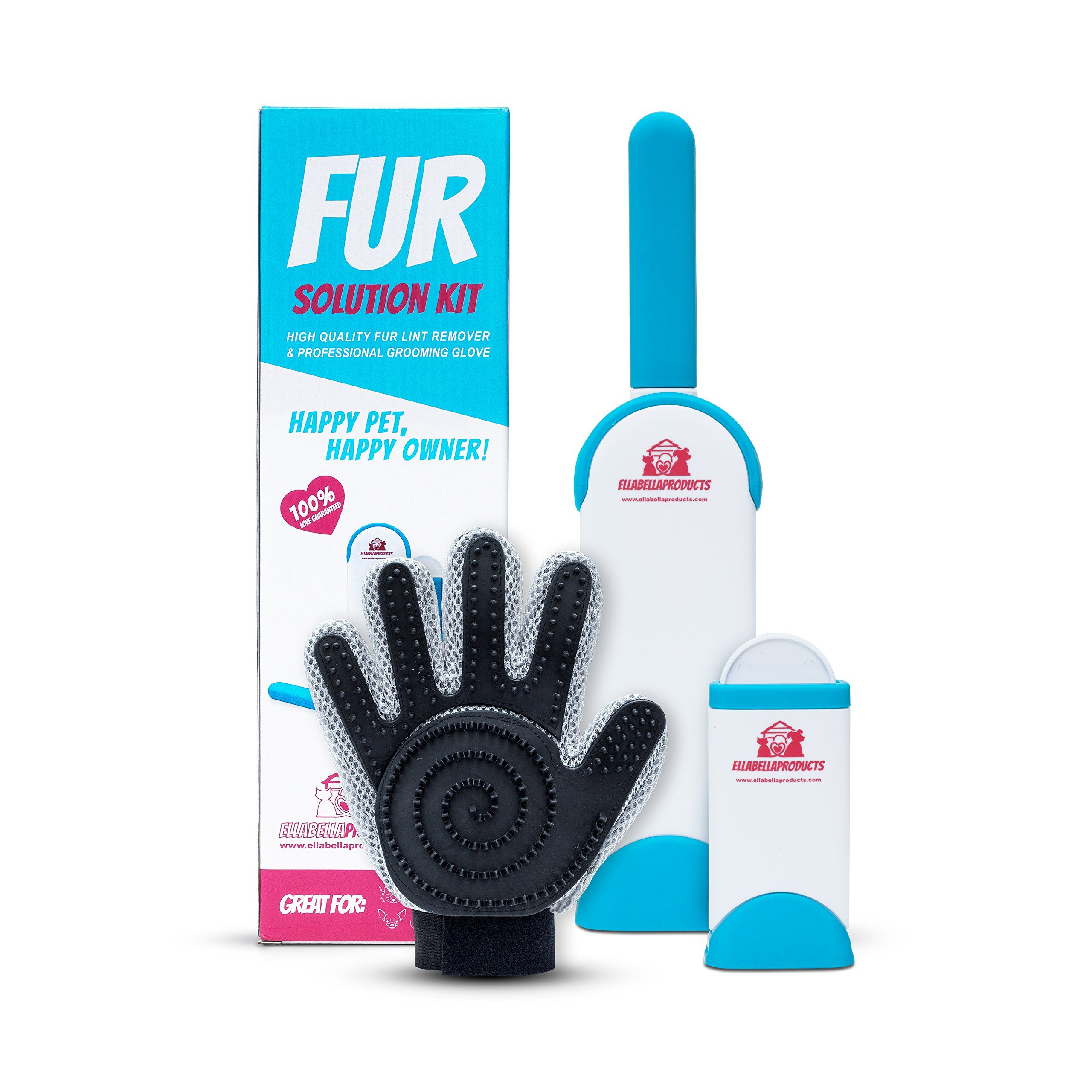 Fur Solution Kit, Fur Happy animals, Lint remover, Solutions