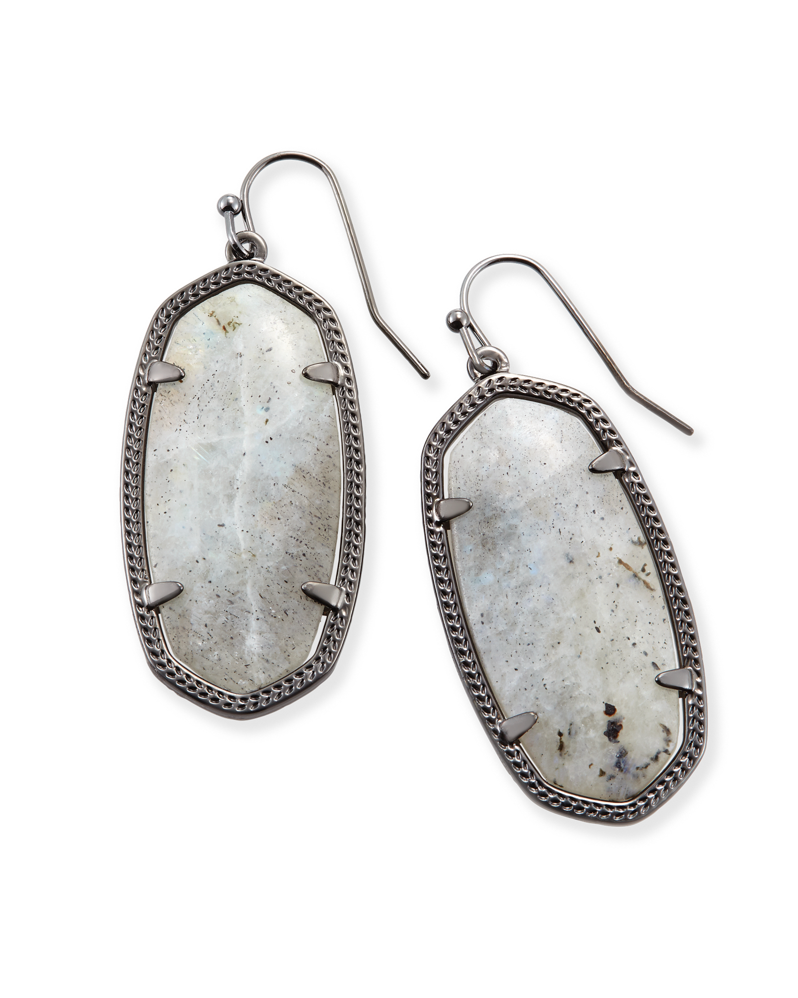 Shop gunmetal drop earrings in unique labradorite stones classic shop gunmetal drop earrings in unique labradorite stones classic kendra scott styles inspired by our arubaitofo Images