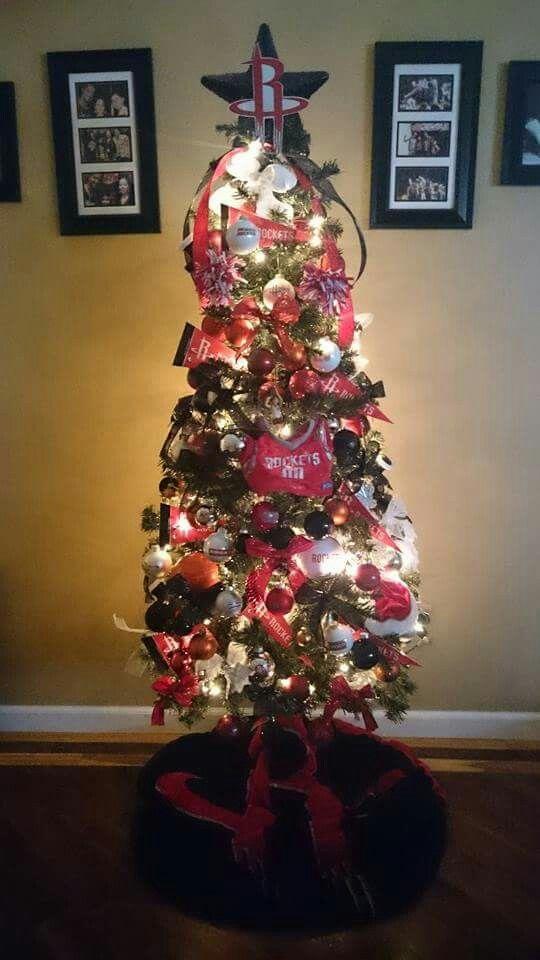 CHRISTMAS TREE~Houston Rockets Christmas Tree | Christmas ...