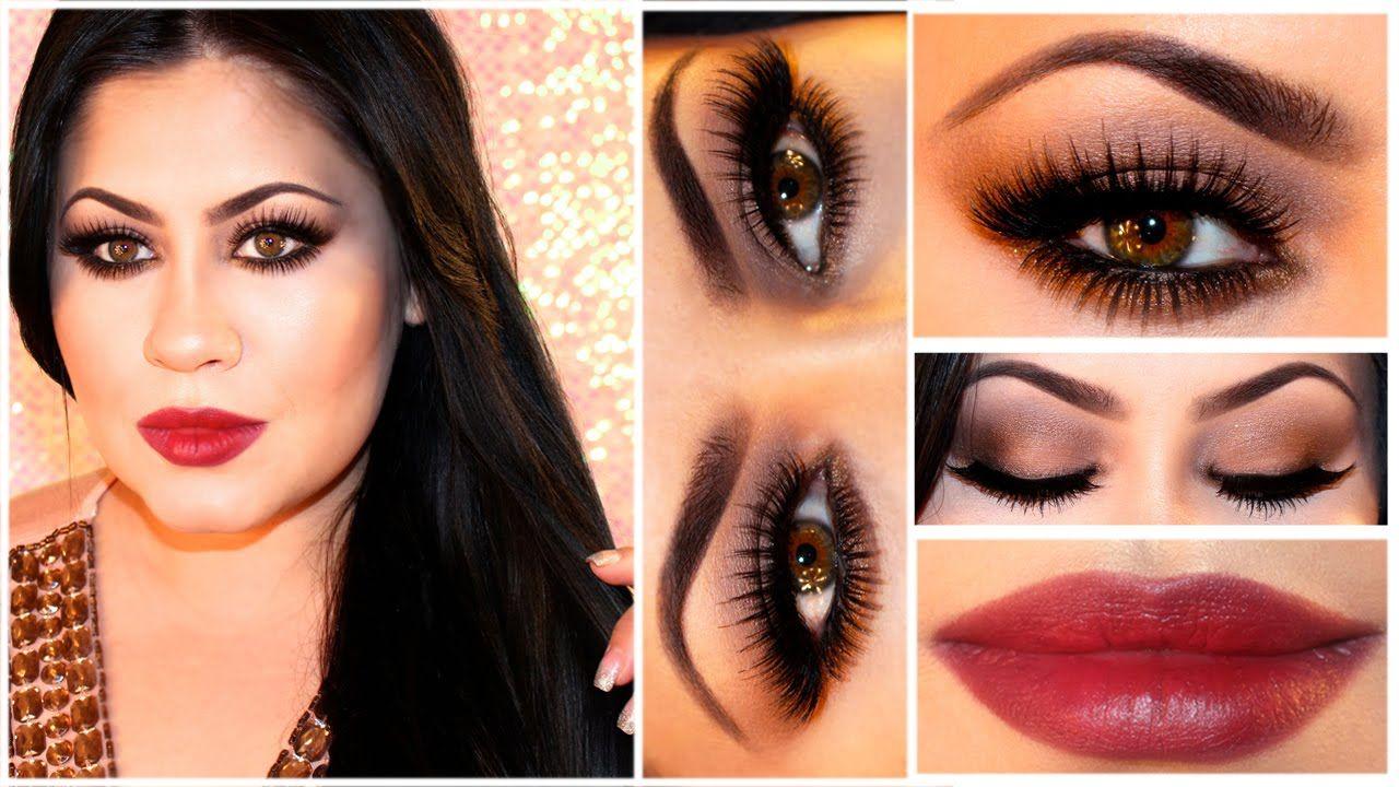 Glam Makeup Tutorial Inspired by Sofia Vergara Hot