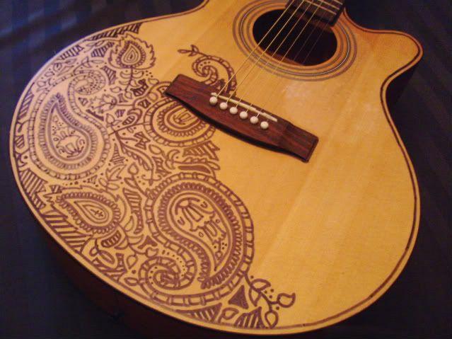 Pict0213 1 Jpg Photo By Pisa01 Photobucket Acoustic Guitar Art Ukulele Art Guitar Painting