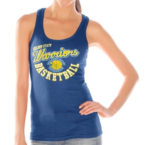 e8c0279fba7f21 Women s Golden State Warriors Royal Blue Preseason Ribbed Tank Top ...