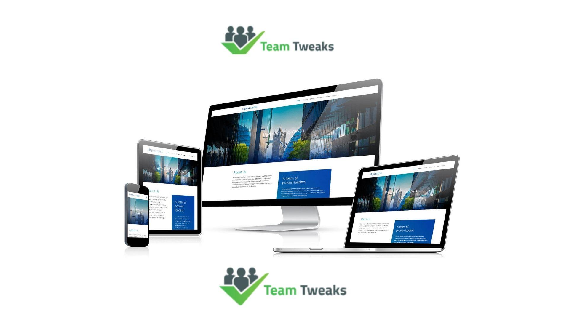 Team tweaks is one of the popular mobile app