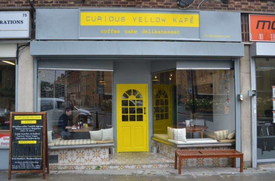 Curious Yellow Kafé   London