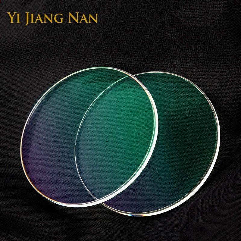 b23097c9a3 Yi Jiang Nan Brand 1.61 Index Anti UV Anti Refleksion Myopi og Læsning  Receptiv Objektiv Transparent Optisk Recept Objektiver