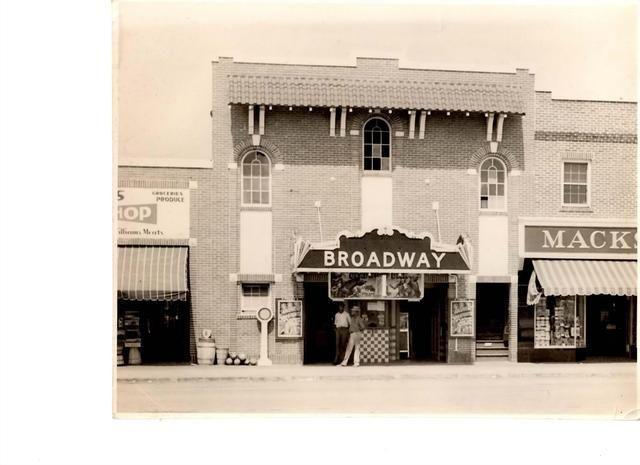 Broadway Theater 1940 Myrtle Beach Sc