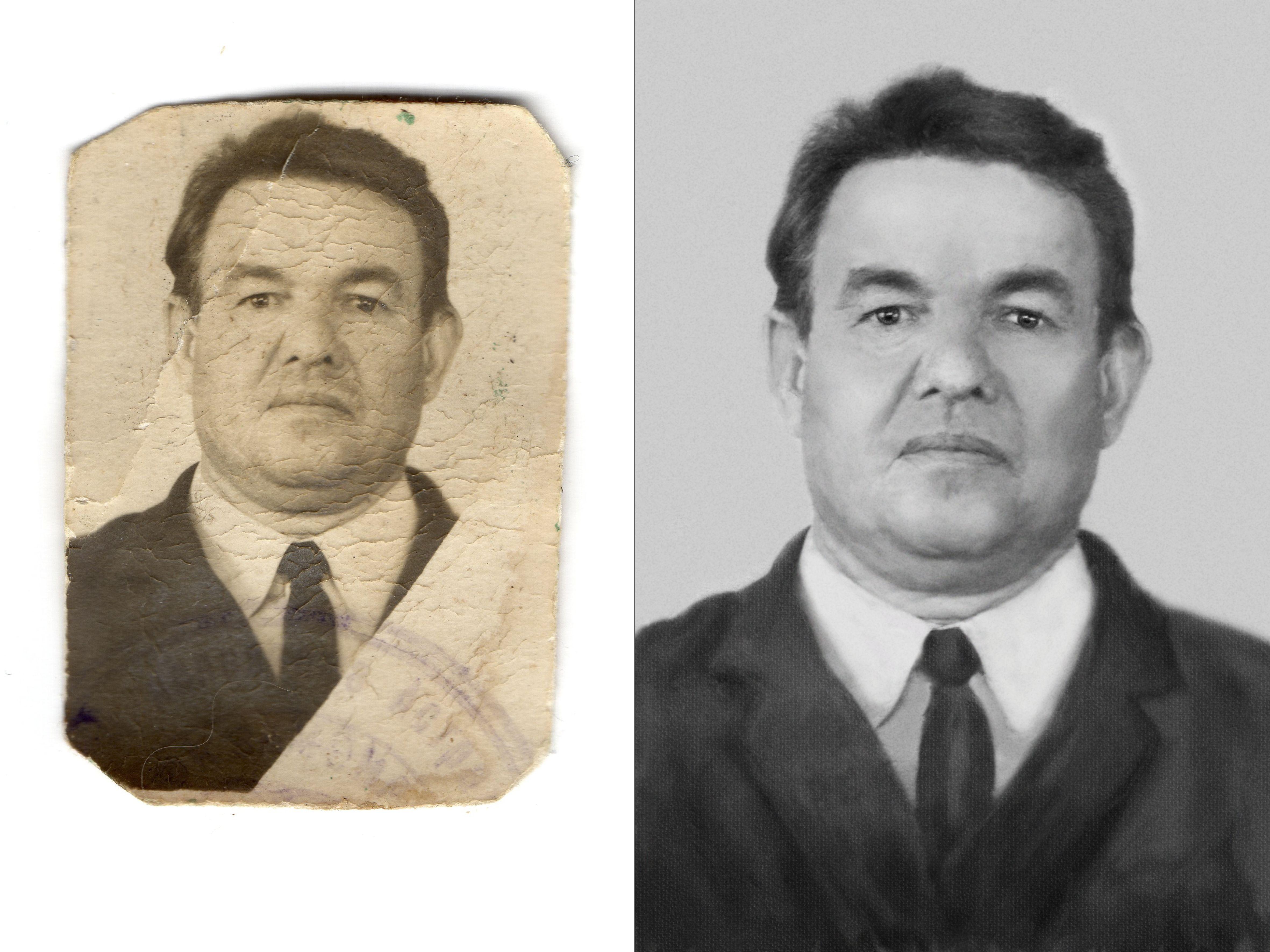Восстановление старой фотографии | Historical figures ...
