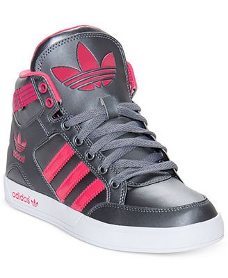 huge selection of b5503 a7af6 adidas Womens Originals Hardcourt Casual Sneakers from Finish Line