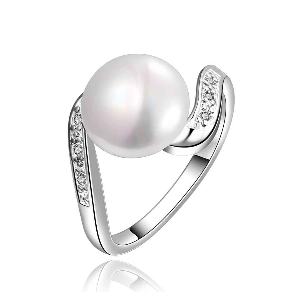 Lovely Silver Pearl Ring Design For Man Photos - Jewelry ...