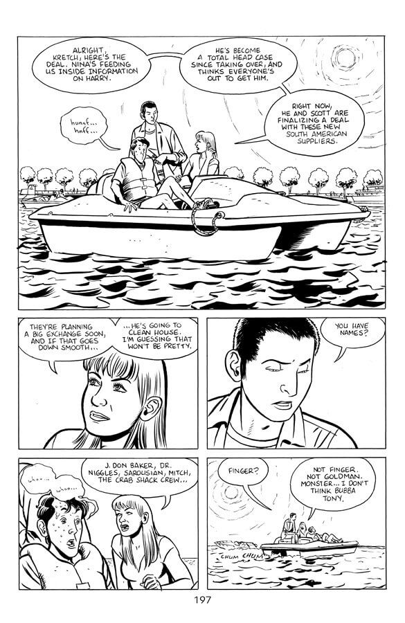 Preview Stray Bullets Sunshine Roses 8 Story By David Lapham