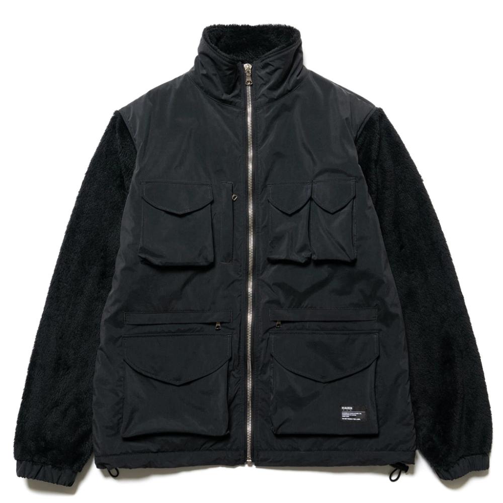 Mountain Utility Jacket Polartec Fleece Black Haven Utility Jacket Polartec Fleece Jackets [ 1000 x 1000 Pixel ]