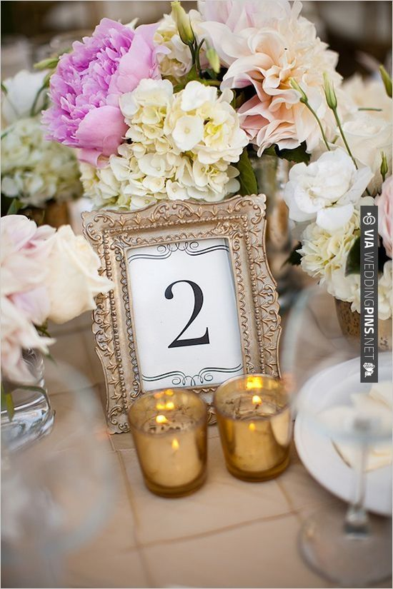 picture frame table numbers   CHECK OUT MORE IDEAS AT WEDDINGPINS ...