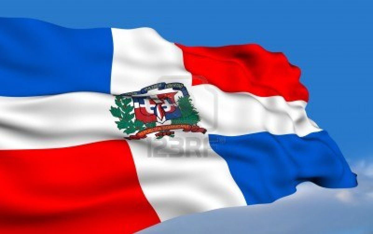 Dominican Flag Dominican Flag Flag Flag Art
