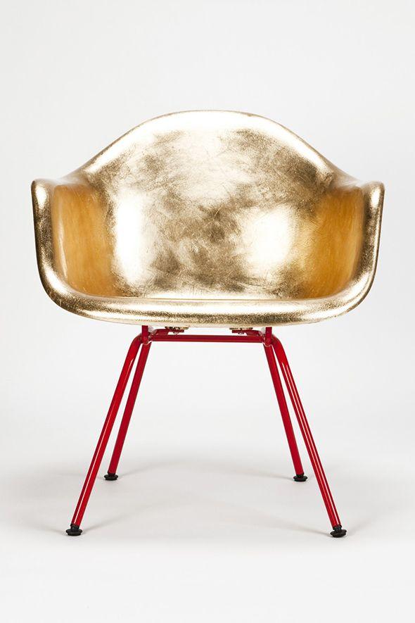 Eames Golden A Shell By Charles U0026 Ray Eames/Reha Okay