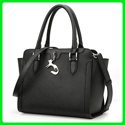 FOXER Women Leather Handbag Top Handle Shoulder Bag Ladies Crossbody  Satchel Purse fbf2010e3b2b7