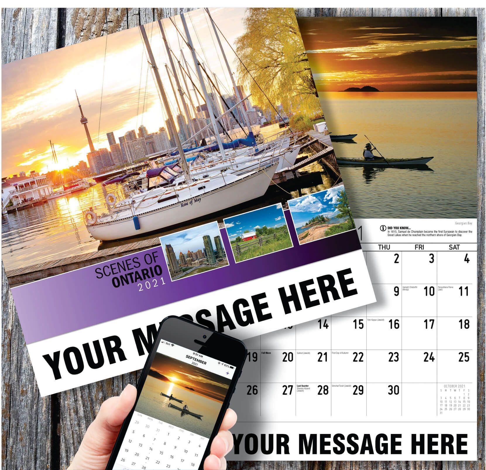 Scenes Of Ontario In 2020 Promotional Calendar Ontario Calendar App