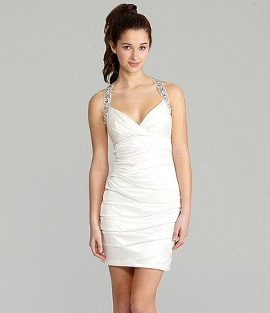 Pretty Little White Dress For Prom Available At Dillards