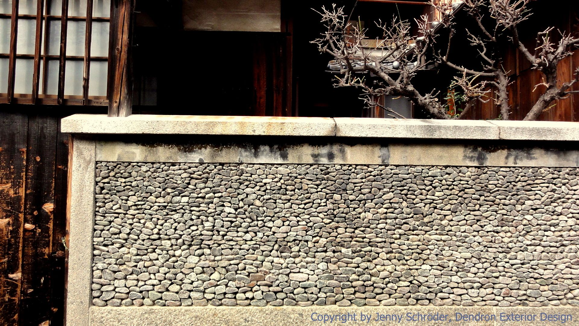 Traditional Japanese Wall Design