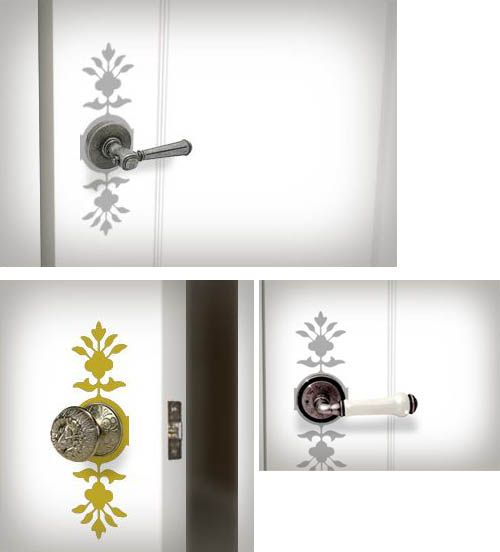 Door Deco 1 Wall Decal Sticker 5he131 15 00