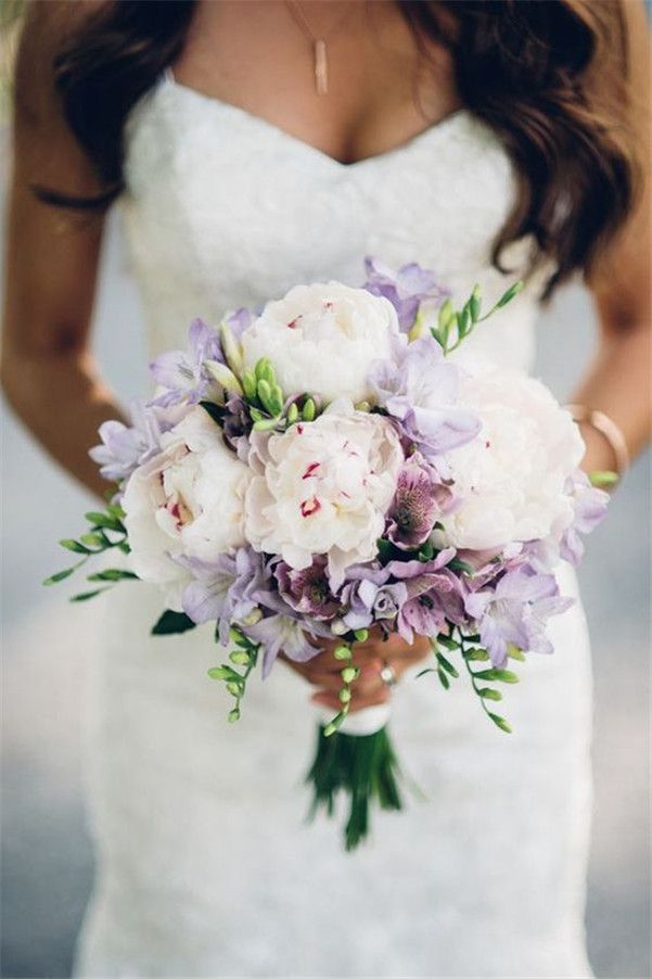21 Super Picture Perfect Peony Wedding Bouquets You Will Adore
