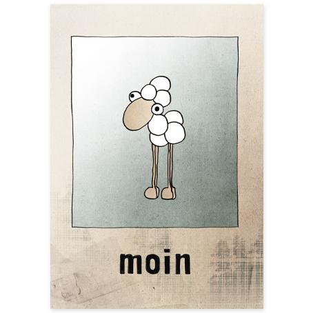 Postkarte [moinsieur mo]