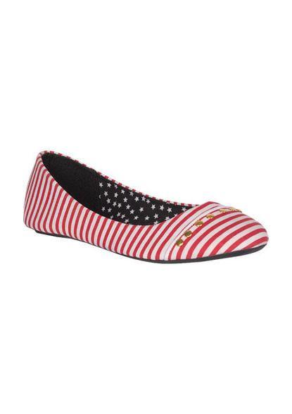 Candy Stripe Flat