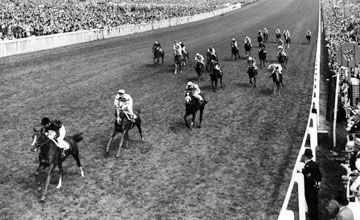 Sea-Bird taking the 1965 Derby.