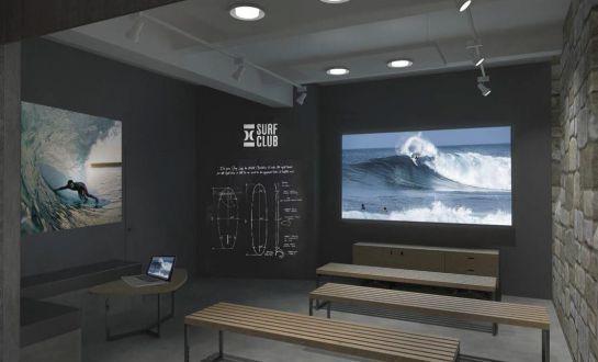 Gros acoge la primera escuela avanzada del surf
