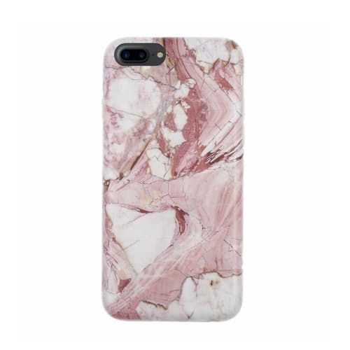Marble Case for iPhone 7 Plus - Rose