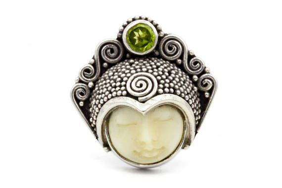 Pin By Cape Cod Laurie On Vintage And Antique Rings Hand Carved Jewelry Aged Jewelry Carved Bone Face