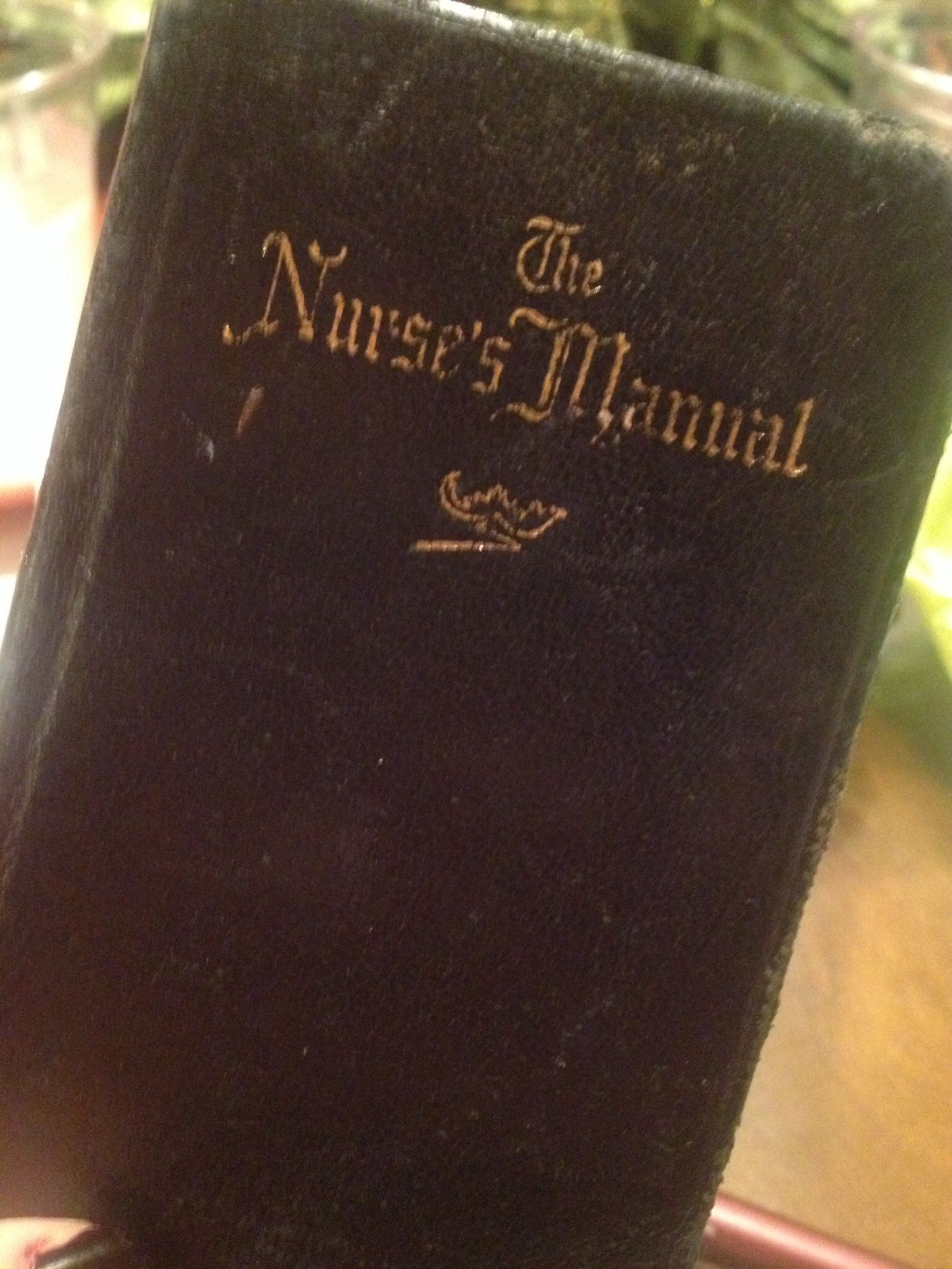 A timeless piece given to me by my Aunt. This book was given to her when she was 20.
