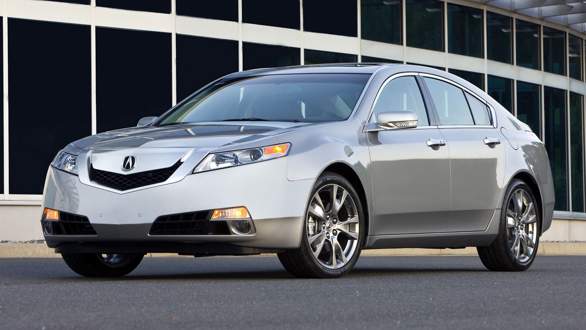 Wallpaper Silver Metallic Cars Front View 2008 Asphalt Tl Buildings Acura Style In 2020 Acura Tl Acura Car Front