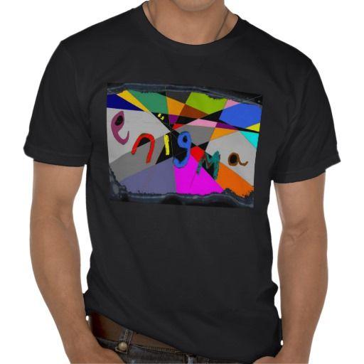 enigma design mens tee shirt