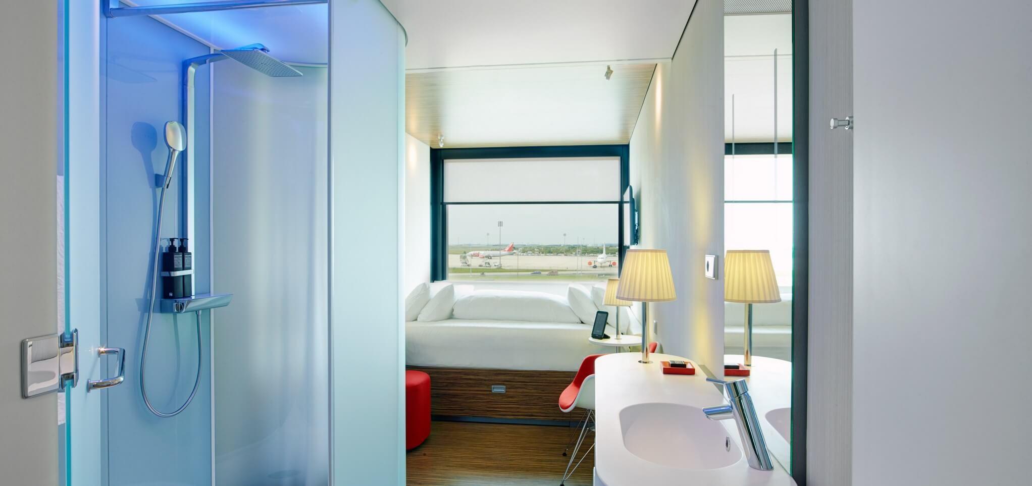 Les meilleurs hôtels d'aéroport pour voyager sans stress