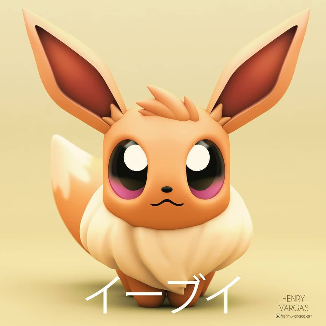 Eevee Fanart Also In Celebration Of Let S Go Eevee