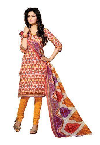 Fabdeal Indian Designer Pure Cotton Orange Printed Salwar Fabdeal, http://www.amazon.de/dp/B00IRBAWEI/ref=cm_sw_r_pi_dp_5v8otb0FR2NCW