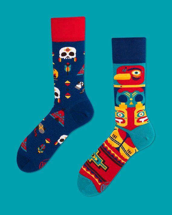 33d68dc247ad Apache Tribe  socks   men socks   colorful socks   cool socks   mismatched    womens socks   unique s
