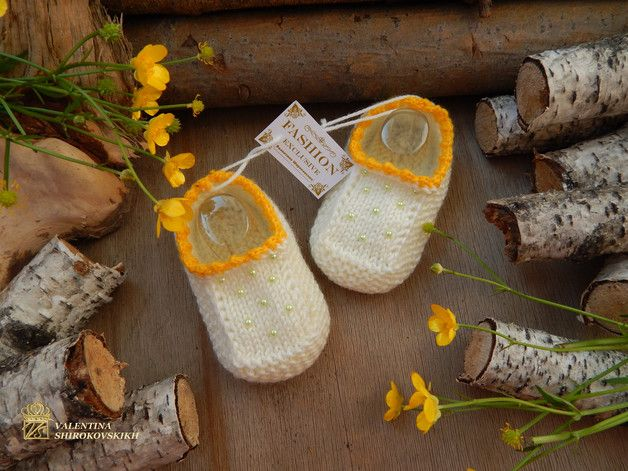 Keep your feet warm and cozy with handmade slippers!    The slippers are extra thick and sturdy, yet surprisingly lightweight and soft. They are intended to be used indoors and fit more like...