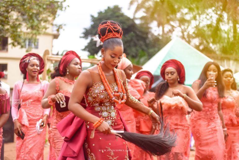 Judy Stanley S Igbo Traditional Wedding Ceremony Igbo Traditional Wedding Nigerian Traditional Wedding Wedding Ceremony Traditions