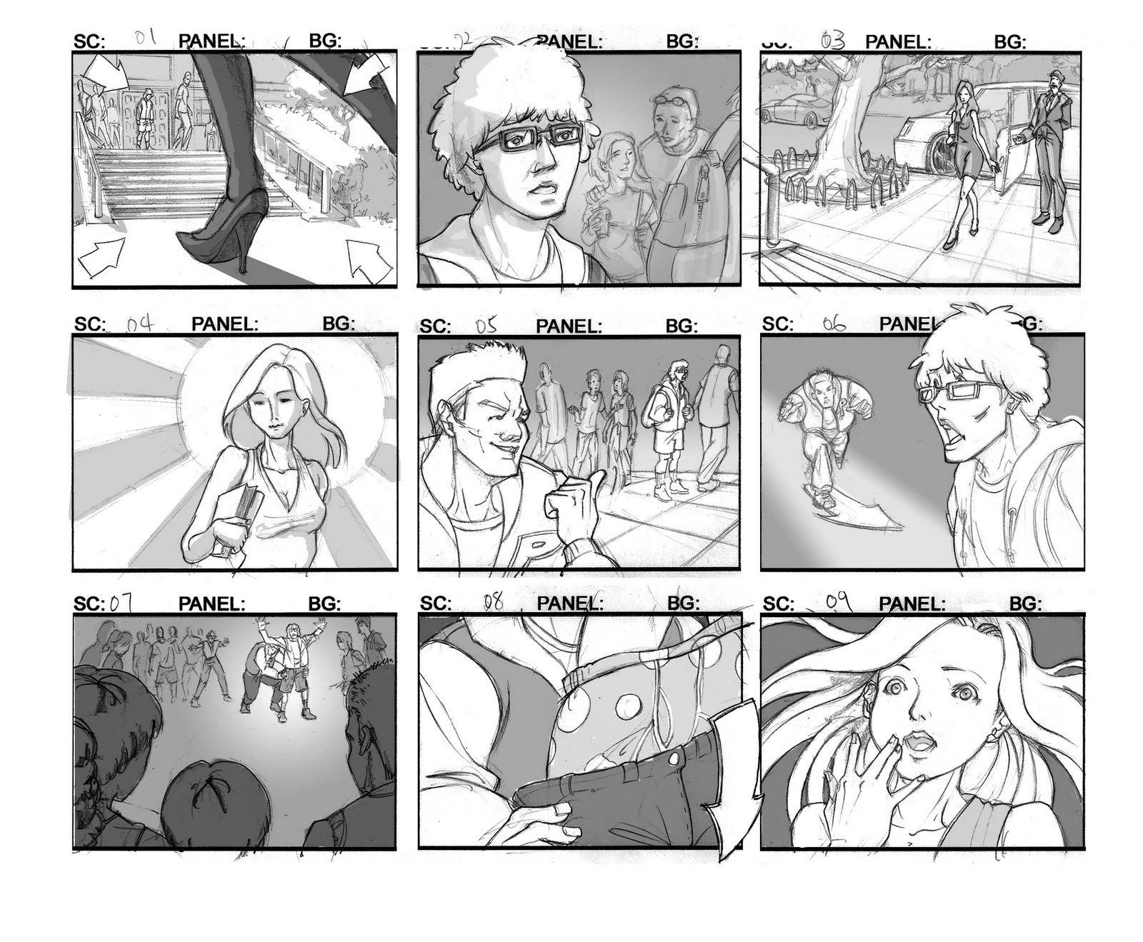 Storyboards  Story Board    Storyboard Mixed Media