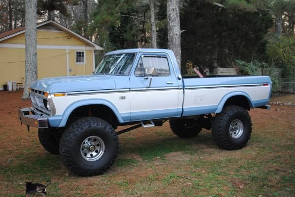 1976 ford truck thread nice lifted 1976 f250 highboy. Black Bedroom Furniture Sets. Home Design Ideas