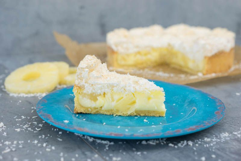 Exotische Kokos Ananas Torte Backen Mit Globus Sallys Welt 9 Ananas Torte Torte Ohne Backen Lebensmittel Essen