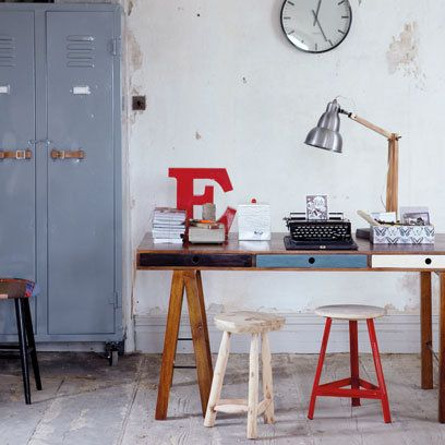 Bodie and Fou Home Office Decorating with Typography Decorating
