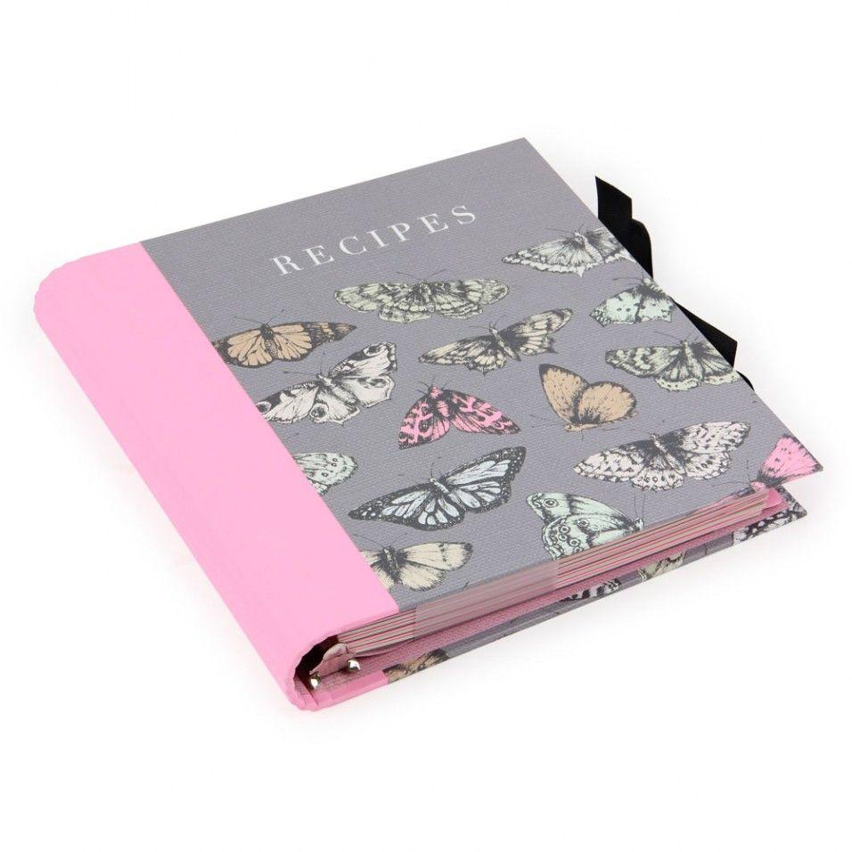 Butterflies A5 Recipe File
