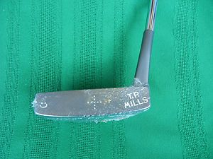 T P Mills Touring Pro Model Hawker Putter - New in Plastic