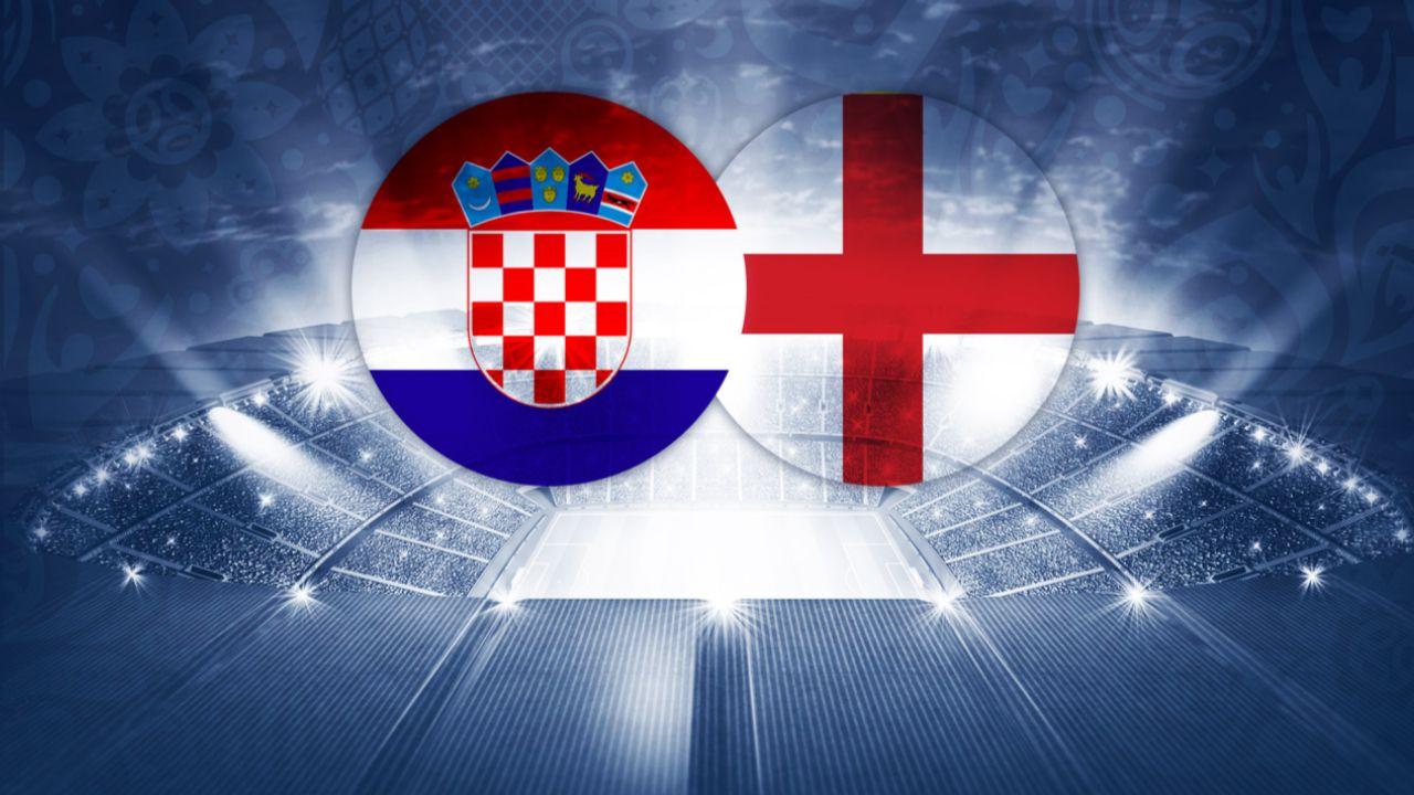 Halbfinale England Kroatien