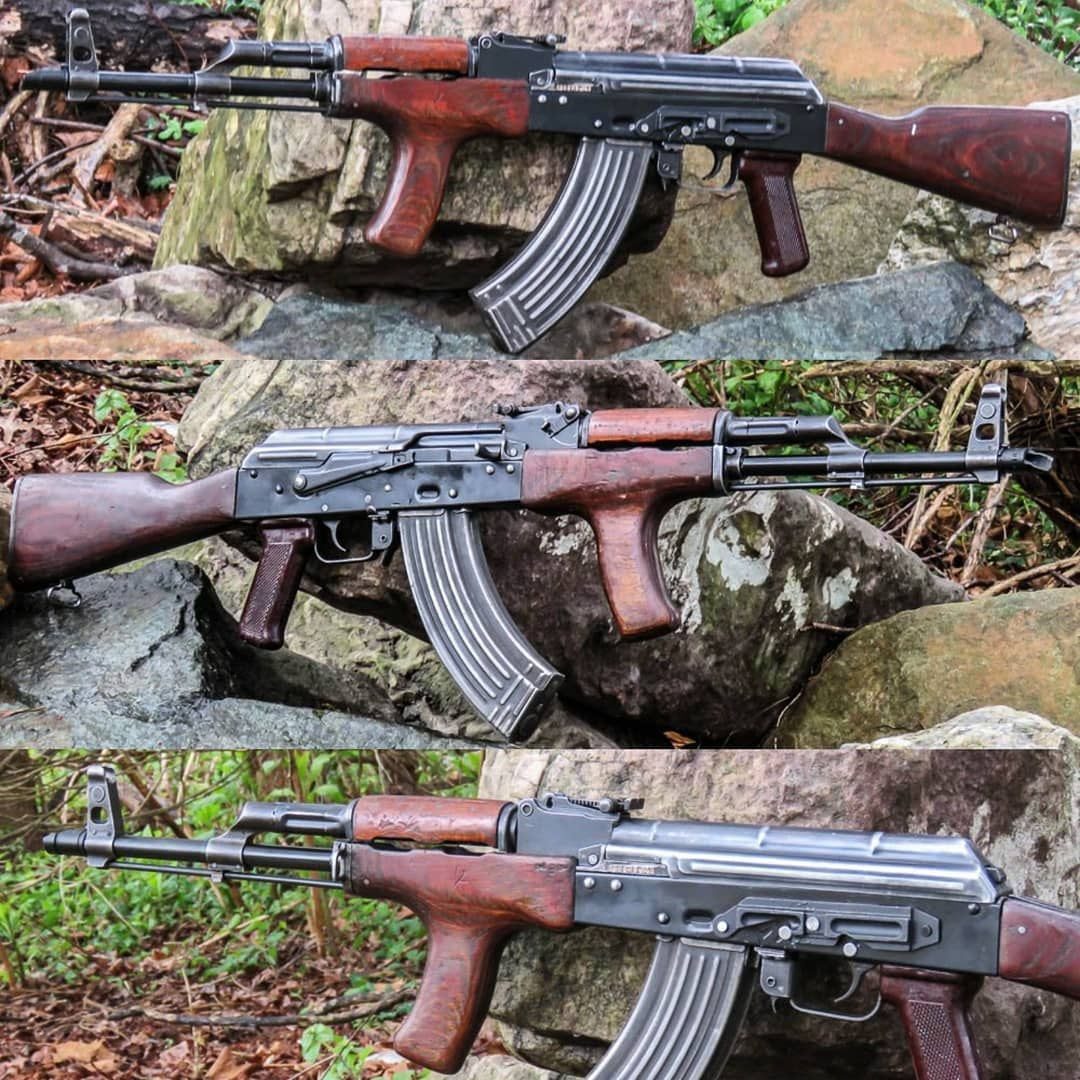 AK47 RIFLE BATTLE PICK UP STYLE ROMANIAN BFPU-FS, Back in