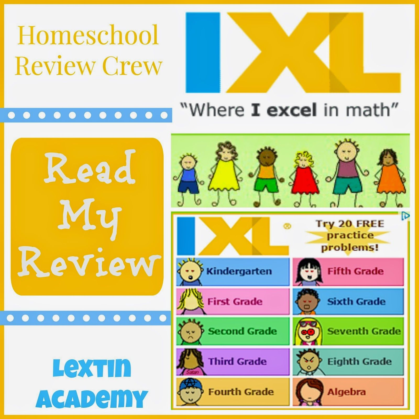 Lextin Academy of Classical Education: {Review Crew} IXL Math and ...